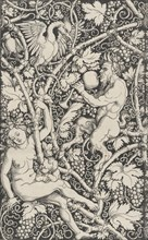Wallpaper with Satyr Family, 1515.