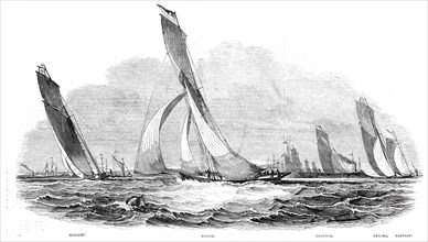 The Royal Thames Yacht Club - Sailing Match - Mystery