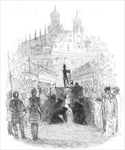 "Scene from Balfe's opera ""The Daughter of St. Mark"""