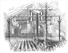 Lord Egerton's  Fete - the Pavilion at Worsley