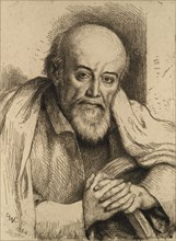 Portrait of Samuel Palmer