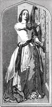Loyalty: Catherine Douglas barring the door