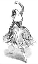 "Md.elle Fanny Eissler dancing ""The Saragossa"""