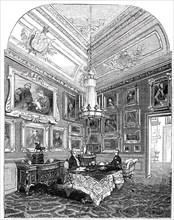 Visit of the King of the French to Queen Victoria - The King's Closet