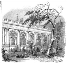 The Bank of England Parlour from the garden