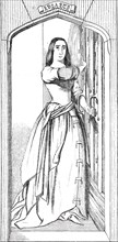 Catherine Douglas - fresco by Mr. Redgrave