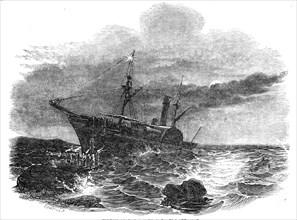 Wreck of the Windsor Castle steamer