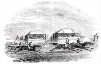 Croxton Park track - the race