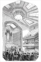 Christmas distribution of prizes at the Liverpool Collegiate Institution