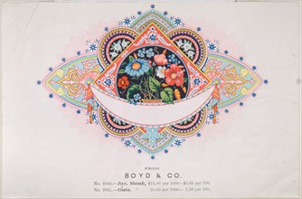 Trade Card for Boyd & Co.