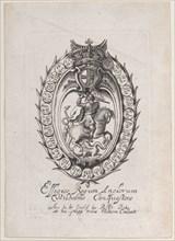 Trade Card for Sir Robert Peake