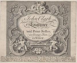 Trade Card for John Clark