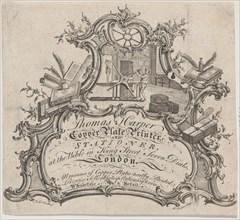 Trade Card for Thomas Harper