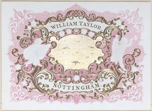 Trade card for William Taylor