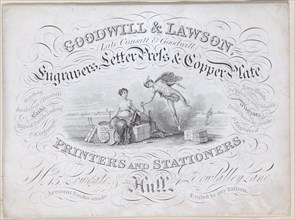 Trade card for Goodwill & Lawson