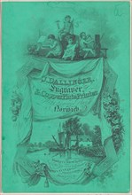 Trade card for J. Dallinger