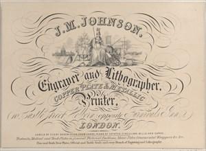 Trade card for J.M. Johnson