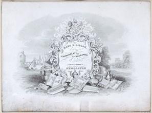 Trade Card for Mark H. Gibson