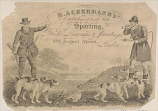 Trade Card for R. Ackermann