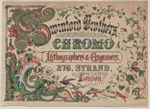 Trade Card for Swinford Brothers