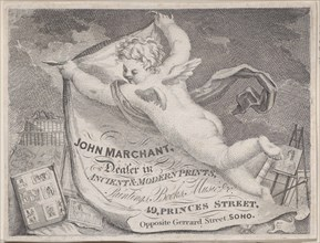 Trade Card for John Marchant