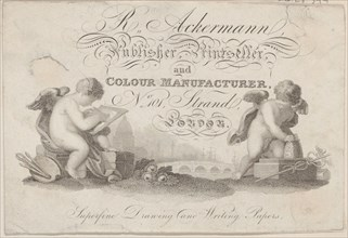 Trade Card for R. Ackermann