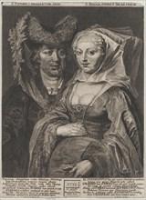 Saint Pepin I and his daughter