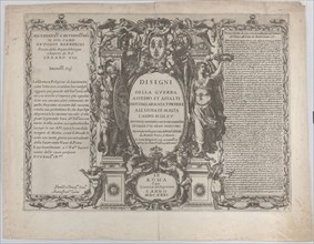 """Frontispiece for """"Drawings of the war"""