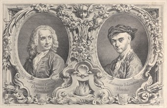 Portraits of Canaletto and Visentini
