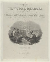 Title Page: The New York Mirror