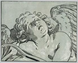 A sleeping cupid