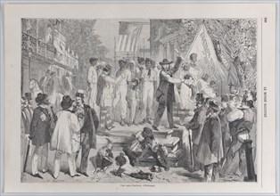Une vente d'esclaves