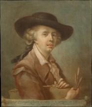 Portrait of Edouard Gautier-Dagoty