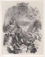 Title Page for Les Artistes Anciens & Modernes