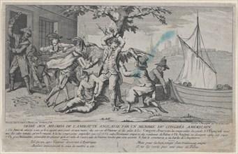 Va de Bon Coeur; Dédié aux Milords de l'Amirauté Anglaise par un Membre de Congrès América...