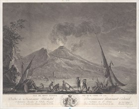 View of Mount Vesuvius as it was in 1757