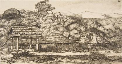 Native Barns and Huts at Akaroa