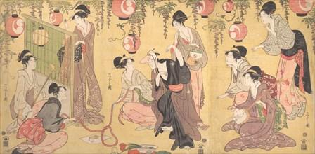 A Parody of Yuranosuke in the Pleasure Quarters