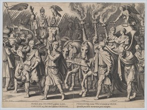 Plate 7: Triumphal Procession after Victory over Turks