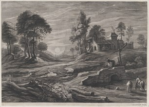 Landscape with Draw-Well