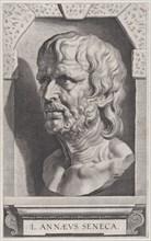 The bust of Seneca