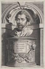 Bust portrait of Philip Rubens