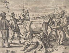 Struggle over the Flemish Milch-Cow