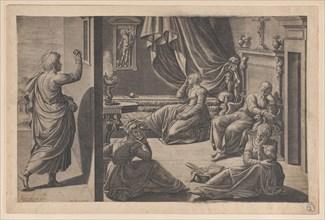 Saint Nicholas of Bari and the Three Poor Girls