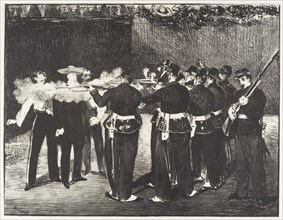 The Execution of the Emperor Maximilian (L'exécution de Maximilien)