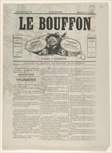 Le Bouffon - Le Salon de 1868