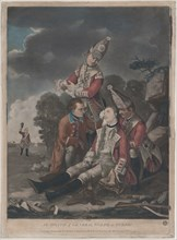 The Death of General Wolfe at Quebec (September