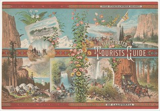 Book cover to an Illustrated Tourist Guide of Noted Summer & Winter Resorts of Cali...