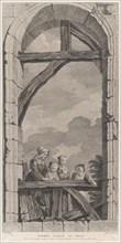 The Chapel of the Enfants-Trouvés in Paris: Religieuse et petites filles regardant la crèc...