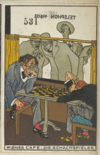 Viennese Café: The Chess Players (Wiener Café: Die Schachspieler)